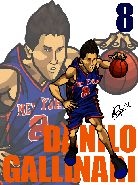 Danilo Gallinari Away
