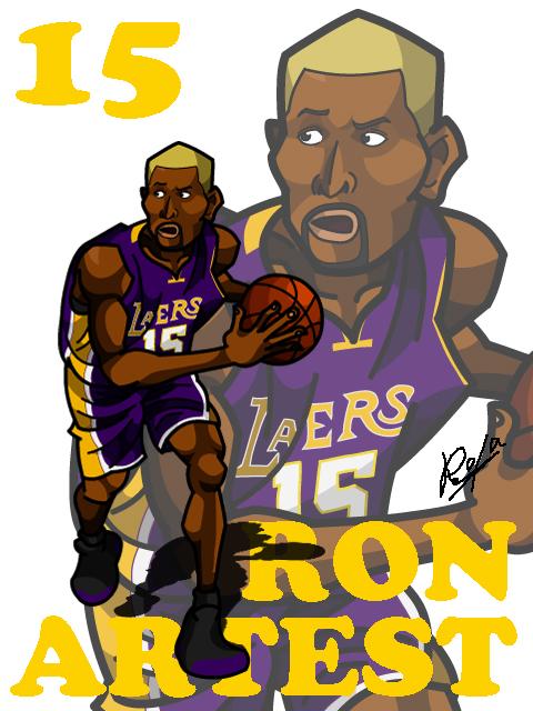 Ron Artest Away #1