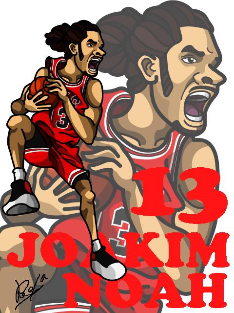 Joakim Noah Away