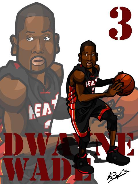 Dwayne Wade #2 Away