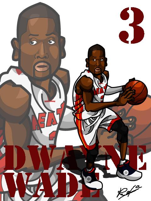 Dwayne Wade #2 Home