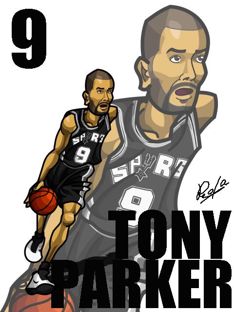 Tony Parker Away