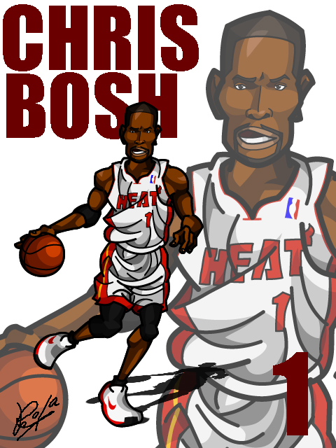 Chris Bosh #3 Home