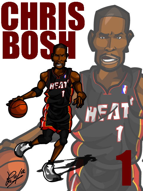 Chris Bosh #3 Away