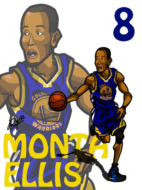 Monta Ellis Away