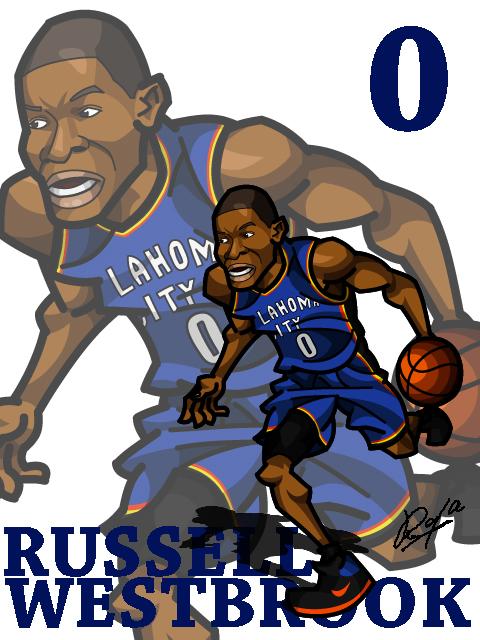 Russell Westbrook Away