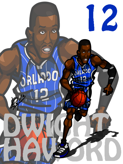 Dwight Howard #2 Away