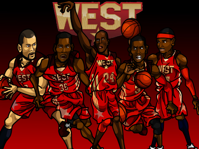 NBA AS 2011 WEST