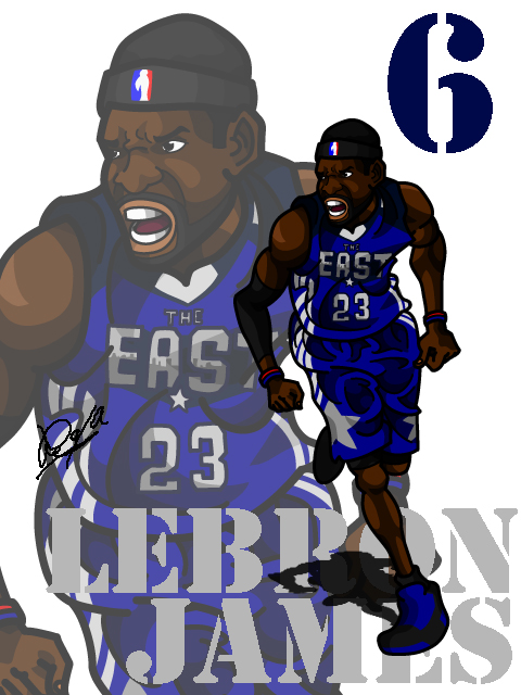 LeBron James #3 AS