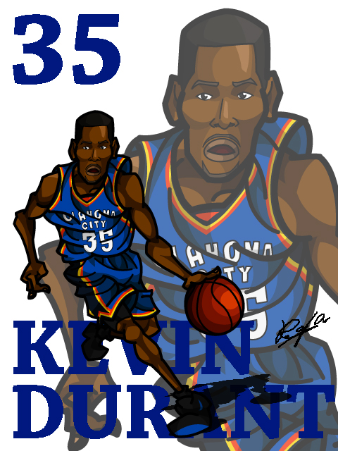 Kevin Durant #3 Away