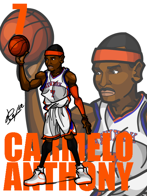 Carmelo Anthony #4 Home