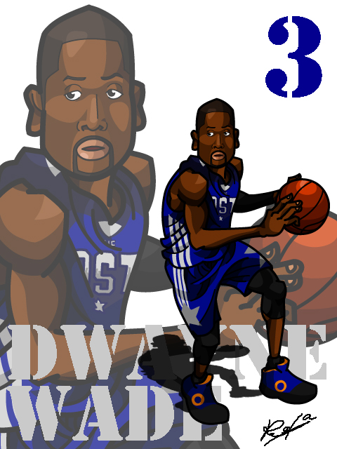 Dwayne Wade #2 AS