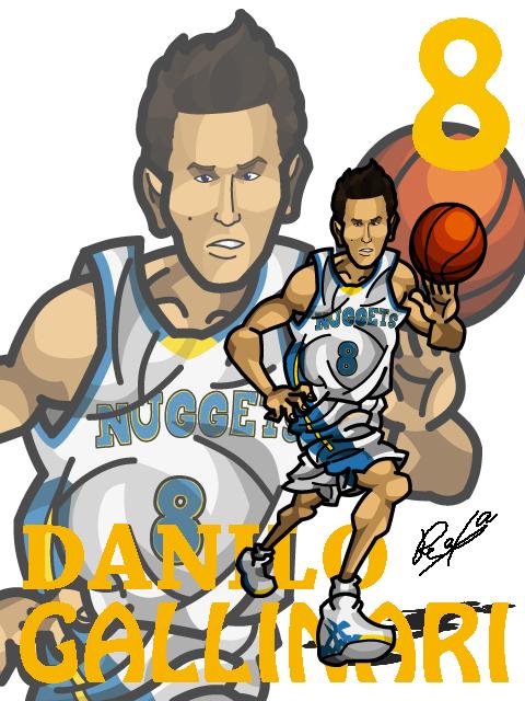 Danilo Gallinari #2 Home