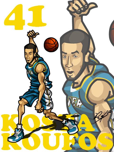 Kosta Koufos Away
