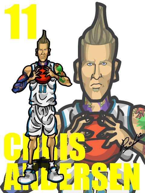 Chris Andersen #2 Home