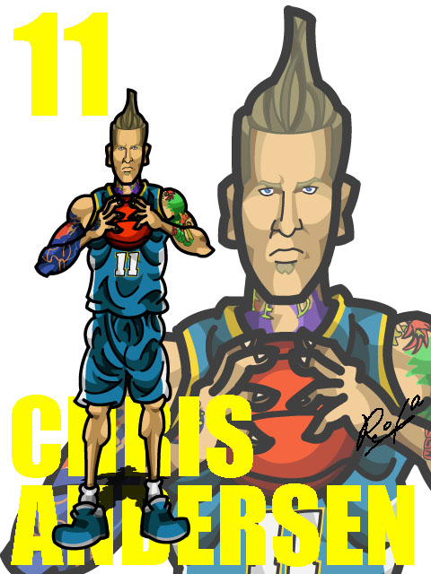 Chris Andersen #2 Away