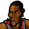 Derrick Rose #2 Face