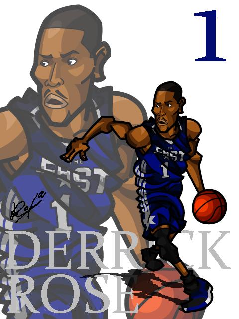 Derrick Rose #2 AS