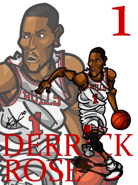 Derrick Rose #2 Home