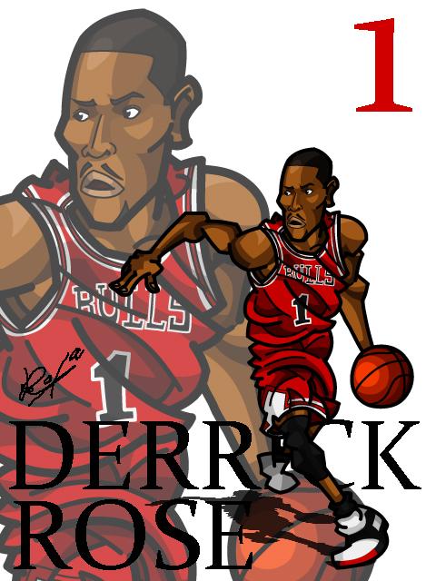 Derrick Rose #2 Away