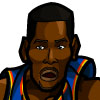 Kevin Durant #3 Face