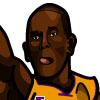 Kobe Bryant #2 Face