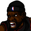 LeBron James #3 Face