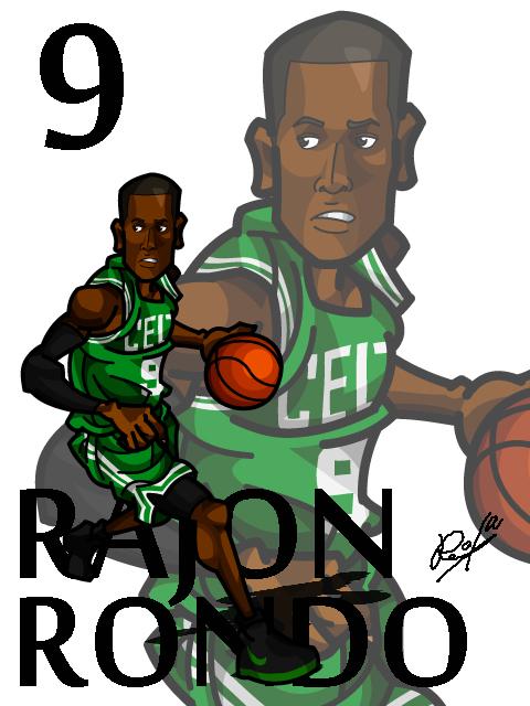 Rajon Rondo #2 Away
