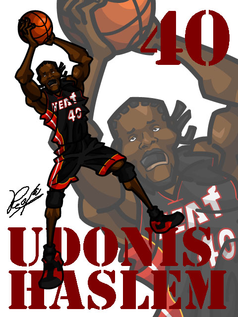 Udonis Haslem Away