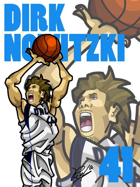 Dirk Nowitzki #3 Home