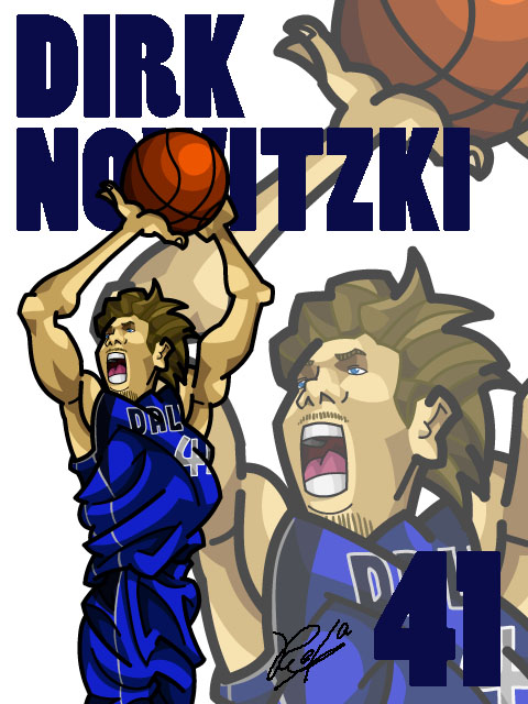 Dirk Nowitzki #3 Away