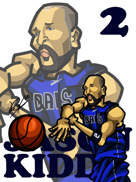 Jason Kidd #2 Away