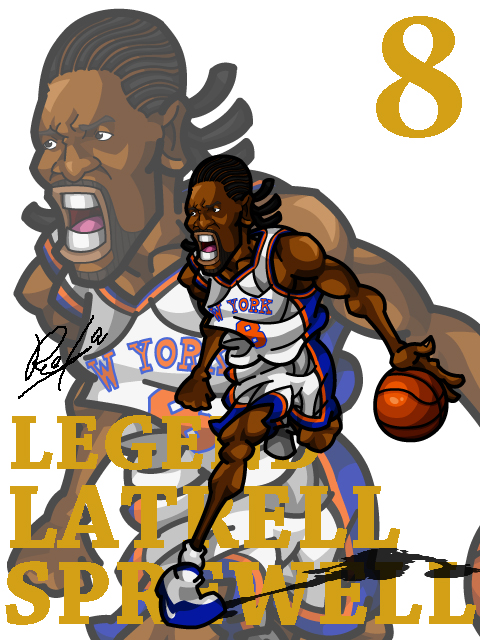 Latrell Sprewell Home