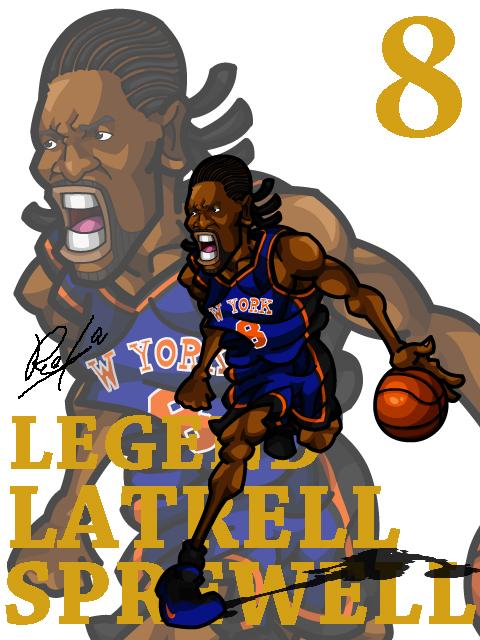 Latrell Sprewell Away