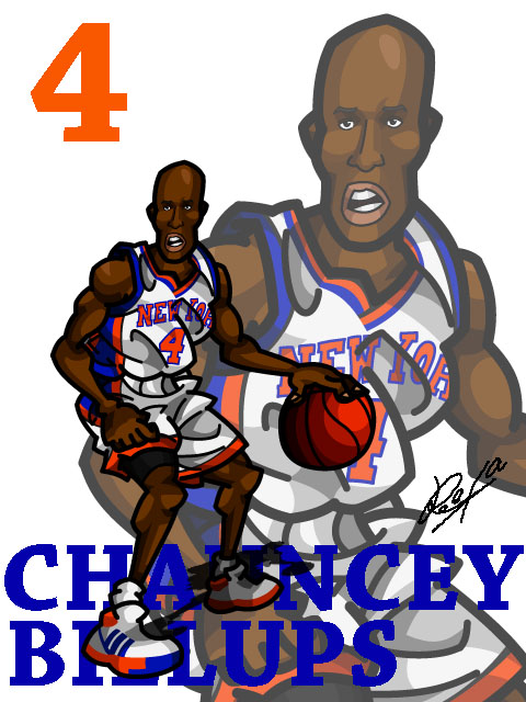 Chauncey Billups #2 Home
