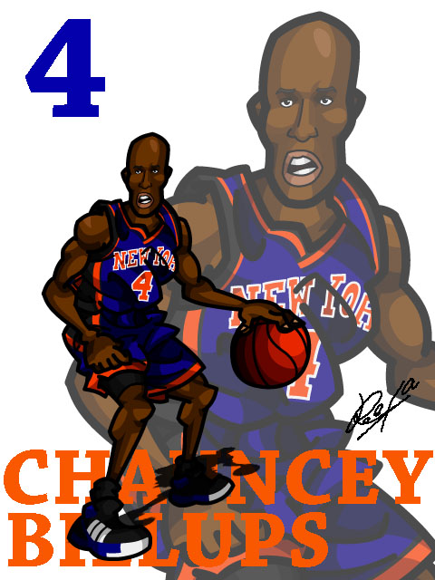 Chauncey Billups #2 Away