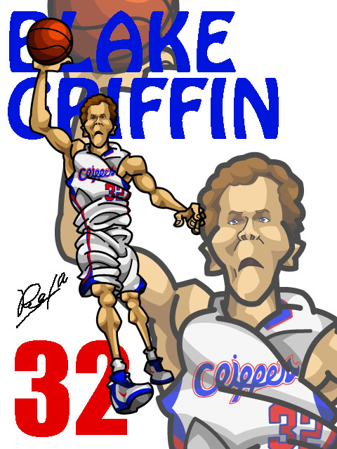 Blake Griffin #2 Home
