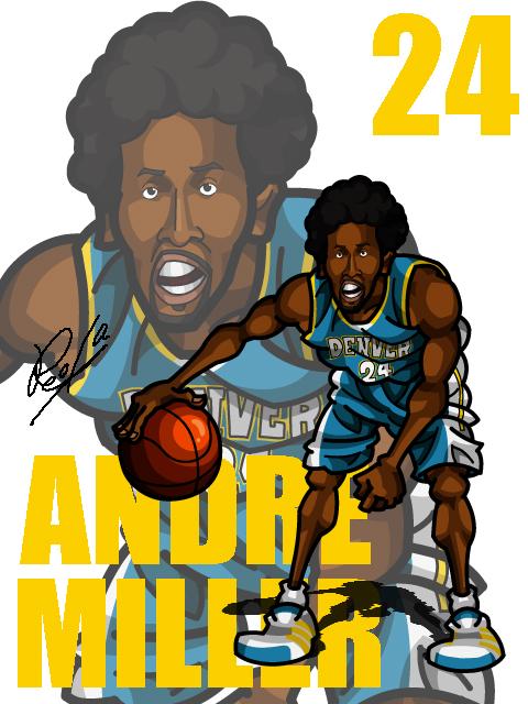 Andre Miller Away