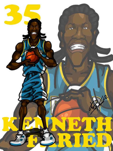 Kenneth Faried Away