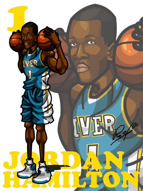 Jordan Hamilton Away