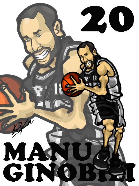 Manu Ginobili Away
