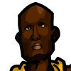Lamar Odom #1 Face