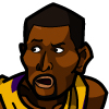 Ron Artest #1 Face