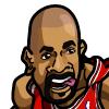 Carlos Boozer #1 Face