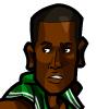 Rajon Rondo #2 Face