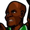 Ray Allen #1 Face