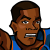 Kevin Durant #1 Face
