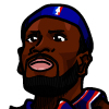 LeBron James #1 Face