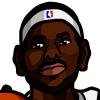 LeBron James #2 Face