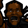 Udonis Haslem #1 Face